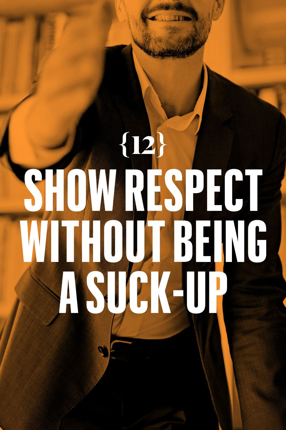 <p>Show respect without being a suck-up. Respect the following, in this order: age, experience, record, reputation. Don't mention any of it.</p>