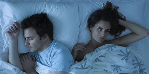 Face, Head, Nose, Human, Comfort, Eye, Shoulder, Black hair, Pillow, Linens,