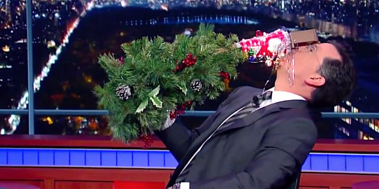 Stephen Colbert Joins the War on Christmas Debate