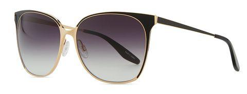 "<p>A universally flattering, oversize frame makes this pair a sure bet.</p><p><em>Edie sunglasses ($525) by Barton Perreira, <a href=""http://www.bergdorfgoodman.com/Barton-Perreira-Universal-Fit-Edie-Metal-Enamel-Sunglasses-Gold-Black-Barton-Perreira/prod113650117_cat408317__/p.prod?icid="" target=""_blank"">bergdorfgoodman.com</a></em><br></p>"