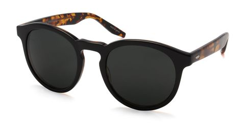 """<p>The round shape and keyhole bridge are will look just as good in a decade as they do now.</p><p><em>Goodman acetate sunglasses ($395) by Barton Perreira, <a href=""""http://www.bergdorfgoodman.com/Barton-Perreira-Goodman-Acetate-Sunglasses-Black-Amber-Tortoise/prod113900049_cat403608__/p.prod?icid=&searchType=EndecaDrivenCat&rte=%252Fcategory.service%253FitemId%253Dcat403608%2526pageSize%253D120%2526Nao%253D0%2526Ns%253DPCS_SORT%2526refinements%253D4294924556&eItemId=prod113900049&cmCat=product"""" target=""""_blank"""">bergdorfgoodman.com</a></em></p>"""