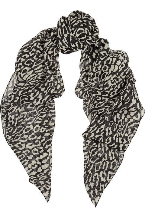 "<p>Let her indulge her rock-star inclinations in the most luxurious way possible.</p><p><em>Leopard print wool scarf ($775) by Saint Laurent, <a href=""http://www.net-a-porter.com/us/en/product/590727/saint_laurent/leopard-print-wool-scarf"" target=""_blank"">net-a-porter.com</a></em></p>"