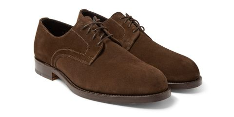 daab075b0 The Footwear Fix: Officine Generale Suede Derby Shoes