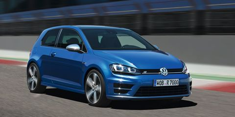 "<p>It's difficult to get people to agree on whether the Volkswagen Golf R is better than the Subaru WRX STI or if it's <a href=""http://www.roadandtrack.com/new-cars/first-drives/reviews/a24608/first-drives-2015-volkswagen-golf-r/"" target=""_blank"">worth the extra money over the GTI</a>. What's easy to agree on is that it's one of the most anonymous performance cars on the market. It has nearly 300 horsepower and will hit 60 mph in less than five seconds, yet few people will be able to differentiate one from a GTI or even a base-level Golf.</p>"
