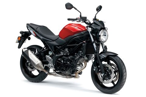 <p><strong></strong><strong>Base Price</strong>: $7,900 (Est.)</p><p>Few bikes are more beloved than the SV650, and this new one is the closest Suzuki has come to recapturing the magic of the 1999 original. The new bike certainly has the right look, which is cleaner and more retro than today's SFV650. It shares the same engine and frame as the SFV, but Suzuki says more than 140 parts were changed. Horsepower is estimated to be up around 75 and the bike's overall weight has been reduced, so this should be a great-riding machine when it arrives this spring.</p>