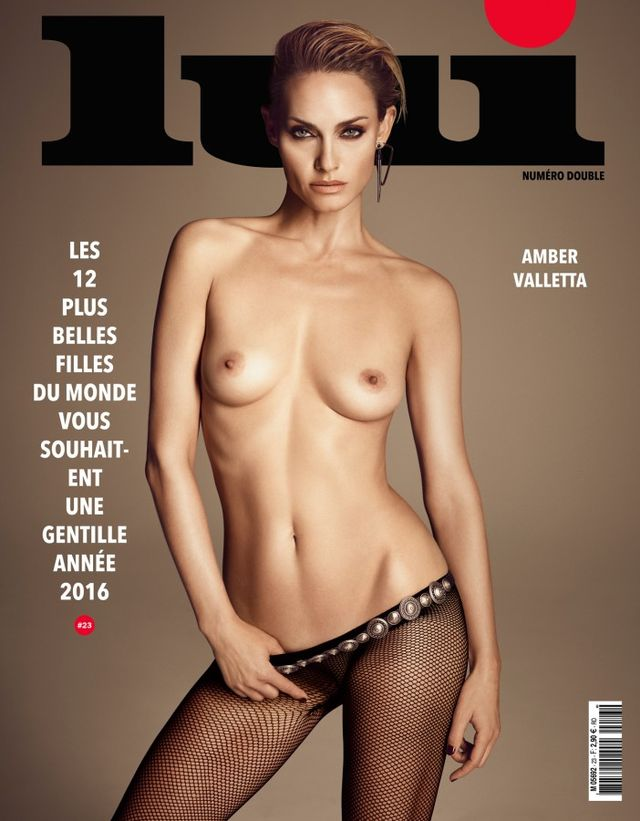 12 Nude Models Posed for the Covers of a French Magazine (NSFW)