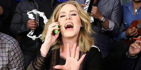 Finger, Hand, Wrist, Tongue, Tooth, Plaid, Tartan, Jaw, Thumb, Nail,