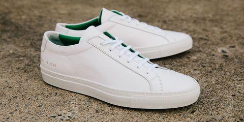 Footwear, Shoe, Product, Green, Photograph, White, Sportswear, Line, Sneakers, Logo,