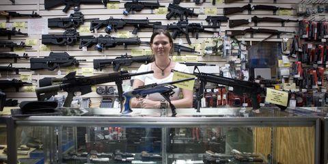 Gun, Air gun, Collection, Shotgun,