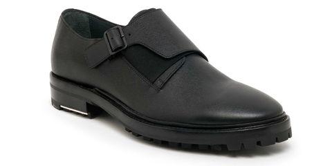 The Footwear Fix: Lanvin Single Monk-Strap Shoes