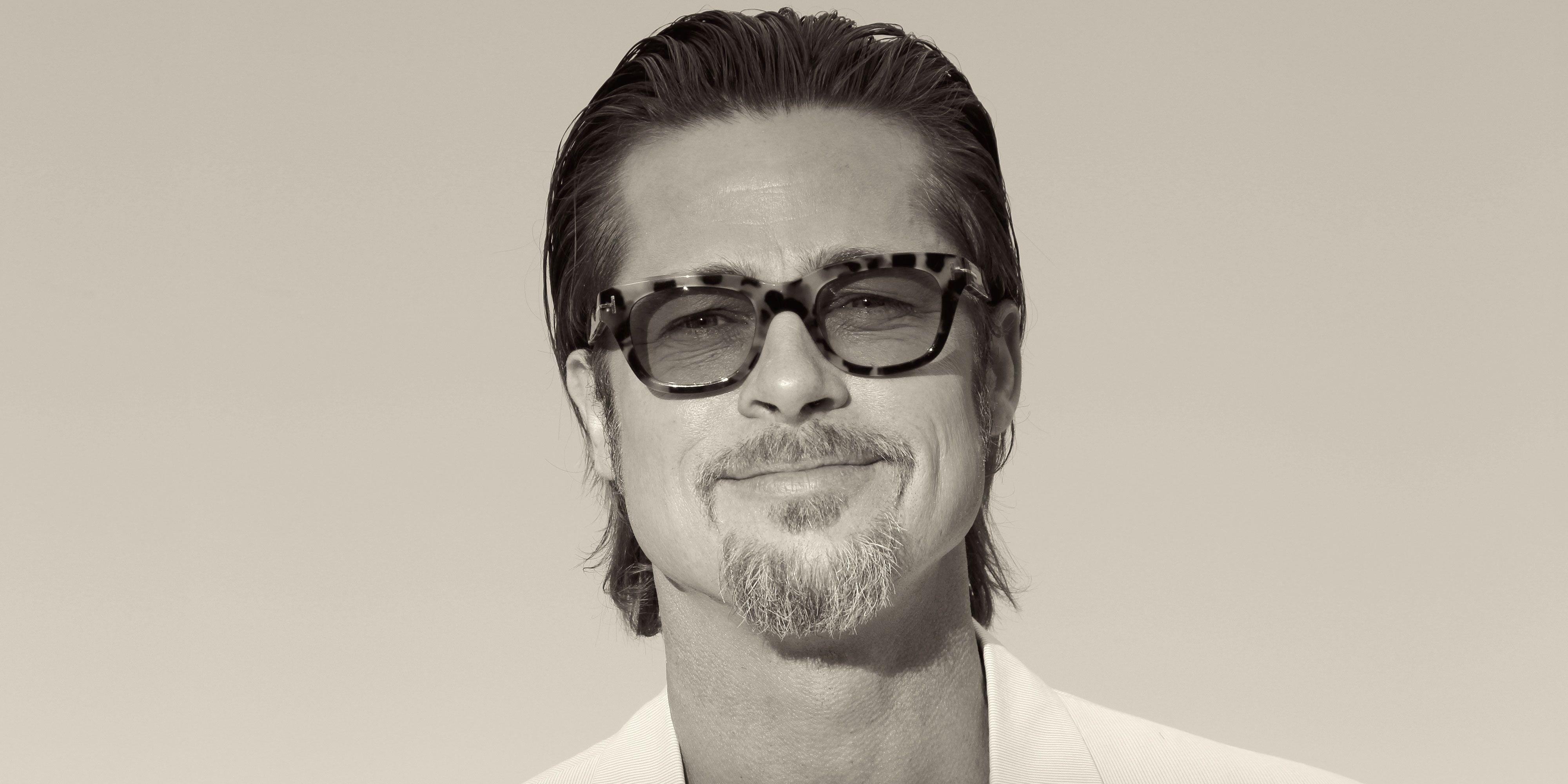 Brad Pitt Cover Story Interview - Brad Pitt Photos and Quotes e404767d2