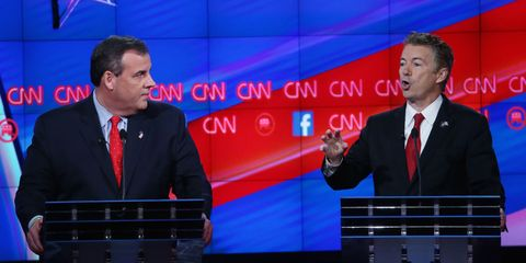 Rand Paul Didn't Win, But He Raised the Most Important Questions of the Debate