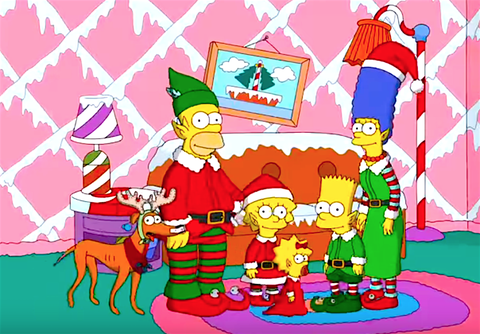 Christmas Simpsons.Celebrate The Holidays With Every Great Simpsons Christmas