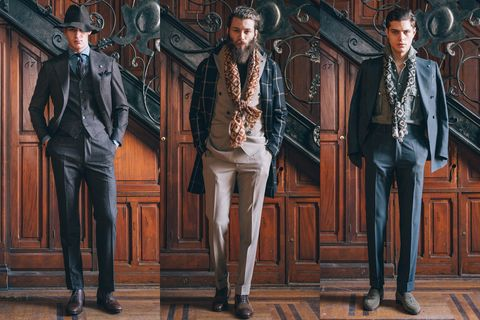 Fashion, Jacket, Leather, Leather jacket, Illustration, Top, Painting, Pocket, Fashion design, Suit trousers,