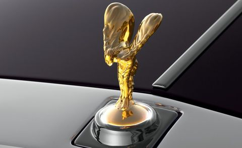 <p>The Rolls-Royce flying lady—the Spirit of Ecstasy—can be plated in 24-karat gold for a mere $10,075. There are places and cultures where this is a must. And there are, we must also note, places where it reminds some of us of gold-toned badging on Toyotas in the 1990s. But hey, it's their money, and at least it's real gold.</p>