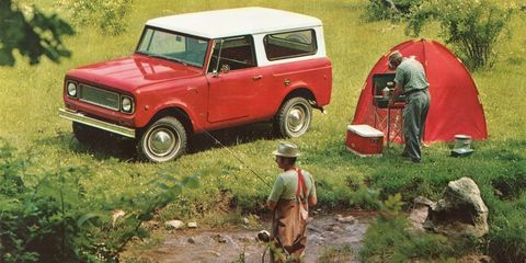 <p>The Scout isn't as well-known as the current yuppie-favorite Ford Bronco, but that's arguably what makes International Harvester's proto-SUV so cool. International Harvester launched the first Scout in 1961 to compete with the Jeep. </p><p>The first two generations of Scout are exactly what you'd expect from a small truck made by a company more known for agricultural equipment, while the Scout II of the 1970s was more in line with the contemporary Bronco and the Chevy Blazer. Either version is cool.</p>