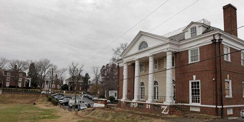 University of Virginia fraternity house