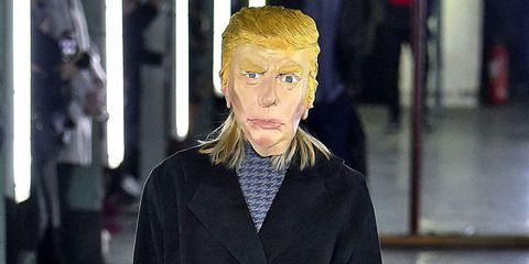 Trump Walks the Runway at Paris Fashion Week