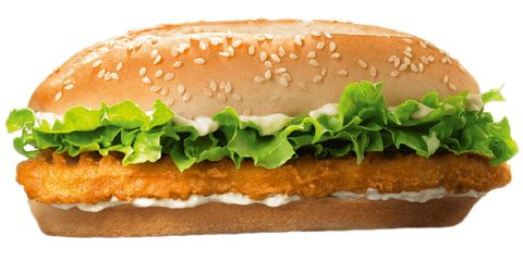 """<p><strong>Official Menu Description:</strong> """"Our Original Chicken Sandwich is made with white meat chicken, lightly breaded and topped with a simple combination of shredded lettuce and creamy mayonnaise on a sesame seed bun.""""—<a href=""""http://www.bk.com/"""" target=""""_blank""""><em>Burger King website</em></a></p><p><strong>Verdict:</strong> This was overloaded with mayo, so depending on your feelings about the divisive condiment, that's either a <a href=""""http://www.delish.com/cooking/a42473/why-i-love-mayo/"""">big positive</a> or <a href=""""http://www.delish.com/cooking/news/a42434/7-reasons-mayo-is-the-worst/"""">huge negative</a>. The chicken is really all about the breading, which overpowers the spongy, thin-chicken patty with its salty seasoning. </p>"""