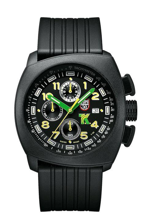 Product, Watch, Glass, Analog watch, Technology, Font, Watch accessory, Fashion accessory, Orange, Black,
