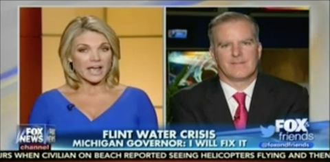 Behold: The Most Absurd Scapegoat Yet for the Flint Water Crisis