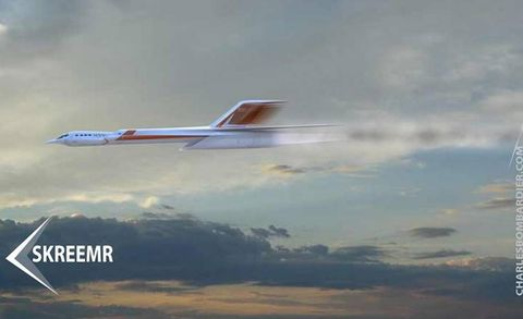 This New Supersonic Jet Could Get from New York to London in Half an Hour