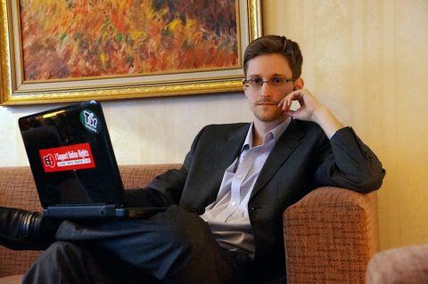 Edward Snowden Has Already Made the Worst Blizzard Joke on the Internet