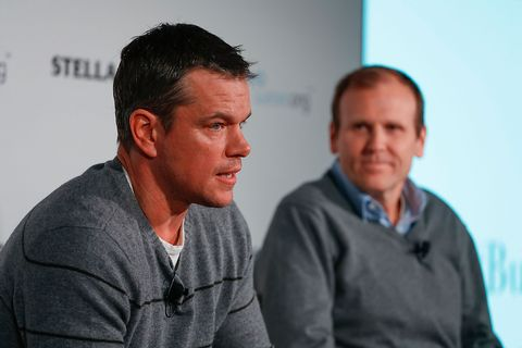 The Real Reason Matt Damon Is Fighting for Clean Water