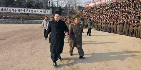 Kim Jong Un in North Korea
