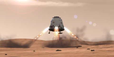 Elon Musk Reveals When He'll Finally Announce His Mars Plan