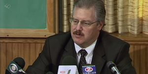 Ken Kratz during the Steven Avery trial for Making a Murderer Netflix series.