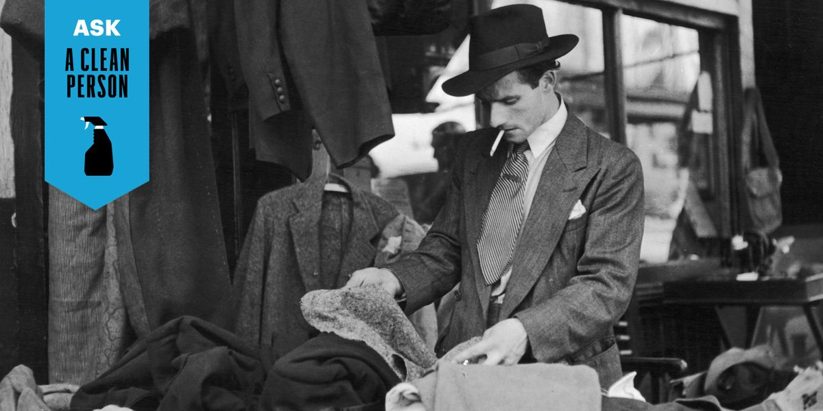How To Get Rid Of That Dank Smell From Vintage Clothes