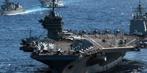 Here's How Every Aircraft Carrier in the World Stacks Up to the U.S. Navy's