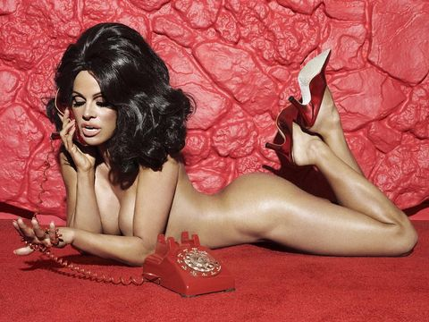 Pamela Anderson Stepped Into Some Cruelty Free Shoes For Her New Paper Magazine Photo Shoot And Thats All She Stepped Into The Actress Appears Nude In A