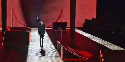 Red, Stage, Hall, Theatre, Shadow,