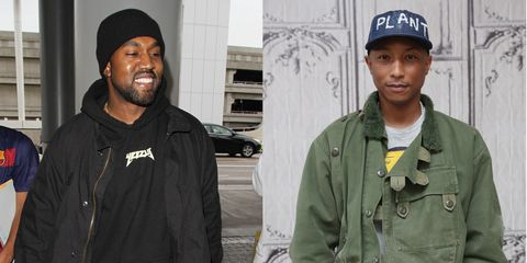 Turns Out Pharrell Is Selling Way More Adidas Sneakers than Kanye