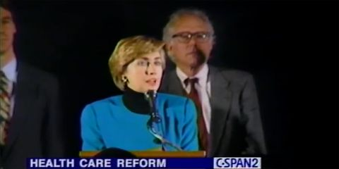 Hillary Questioned Bernie's Record on Health Care and The Internet Made an Epic Correction