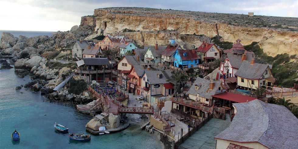 The Set from the 1980 Popeye Reboot Is Now a Quaint Vacation Destination