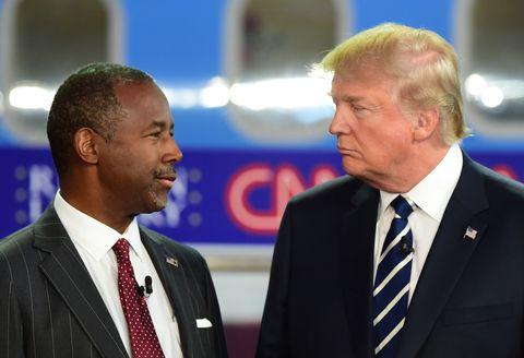 Carson, Trump