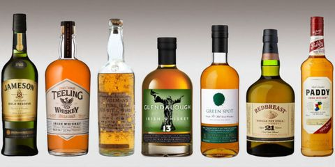 10 Great Irish Whiskeys to Sip This St. Patrick's Day