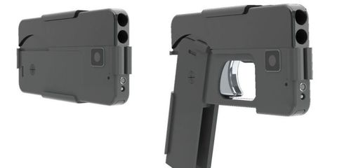 This Gun Disguised as a Smartphone Will Solve Only One of Your Bulge Problems