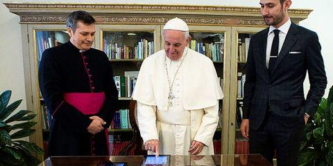 Trousers, Bishop, Clergy, Dress shirt, Suit, Formal wear, Coat, Bishop, Priesthood, Metropolitan bishop,