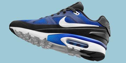 Footwear, Blue, Product, Athletic shoe, Shoe, Sportswear, White, Running shoe, Electric blue, Sneakers,