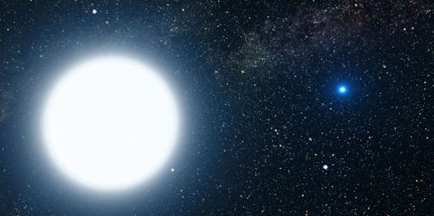 This Newly Discovered Star Has an Almost Pure Oxygen Atmosphere