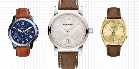 c01ae50312e9 Best Brown Leather Watches of 2016 - New Leather Watches 2016