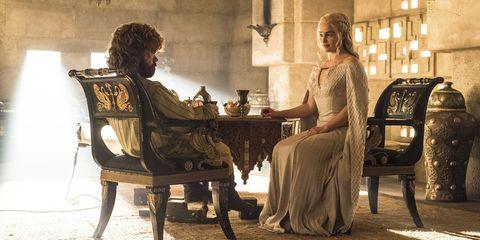Tyrion Lannister, Daenerys Targaryen