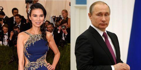 Wendi Deng, Vladimir Putin