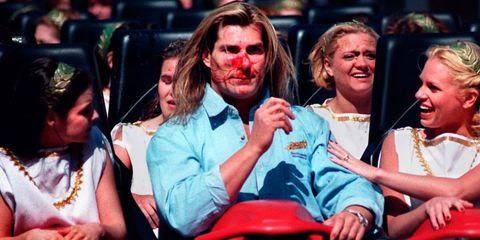 Fabio goose Busch Gardens