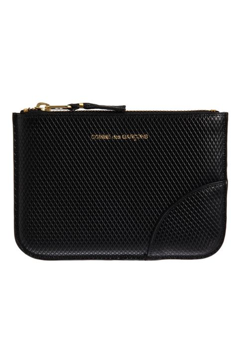 "<p>""Beautiful! Sized to stand alone or to fit into any bag or purse."" - Jane, mother of Culture Editor, <em>Esquire.com</em></p><p><em>Luxury Leather Small Zip Pouch ($175) by Comme des Garçons, </em><a href=""http://www.barneys.com/comme-des-garçons-luxury-leather-small-zip-pouch-502730900.html"" target=""_blank""><em>barneys.com</em></a></p>"