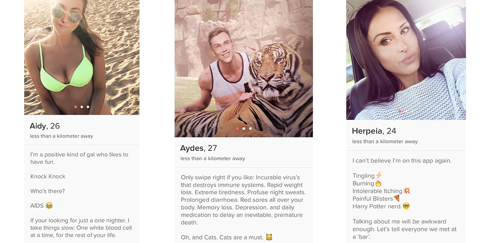Tinder Finally Cuts Out the Middle Man and Lets You Match with STDs